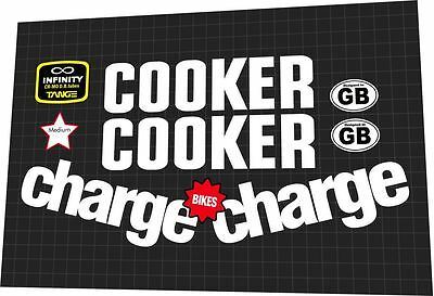 Charge Cooker 4 Frame Decal Set