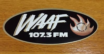 Audioslave 2003 Boston Concert Sticker -WAAF - Chris Cornell
