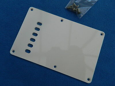 Squier by Fender Stratocaster Back Plate & Screws (Smooth/Offset holes)