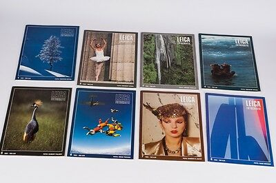 Leica Fotografie  complete year 8 magazines 1983  German Edition