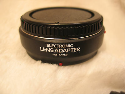 Electronic AF Adapter Four Thirds M43 lens to Olympus Panasonic Micro 4/3 MMF-