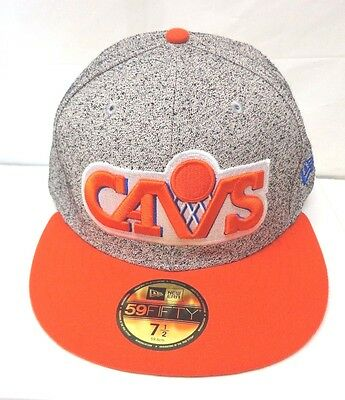 fd3e5ee80ab Cleveland Cavaliers Men s New Era 59FIFTY Fitted 7 1 2 Spec Cap Hat