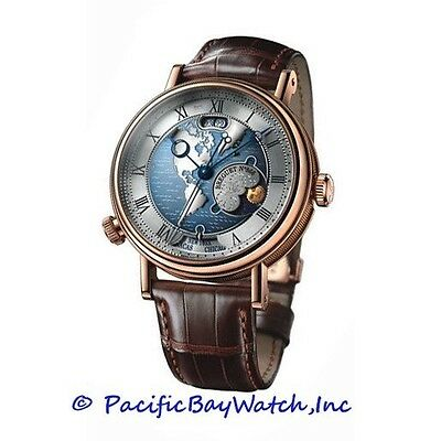 NEW Breguet Hora Mundi Americas 18k Rose Gold RARE gent's watch.
