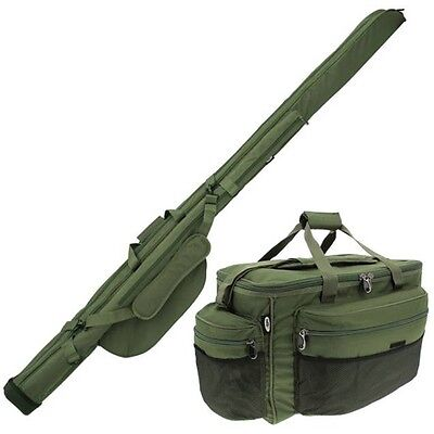 Carp Fishing Twin Rod Holdall & Large Tackle Bag Carryall Holdall NGT