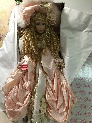 """Show- Stoppers doll """"Cherilyn"""" West Southern Belle Curly Hair W/ Box & Tag 25"""""""