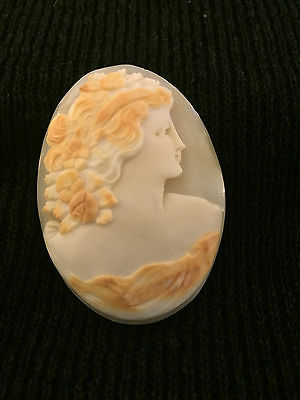 Beautiful Large Unmounted Antique Cameo