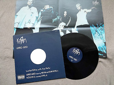 "KORN ~ Good God ~ 12"" Single  LIMITED EDITION + POSTER"