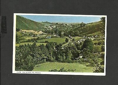 Vintage Valentine Colour Postcard Vale Of Avoca Co Wicklow Unposted