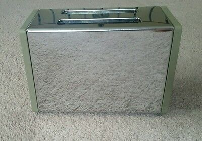 Vintage green and chrome General Electric toaster