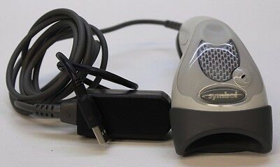 Symbol LS1902T-1000 Barcode Scanner With STI85-0200 USB Adapter