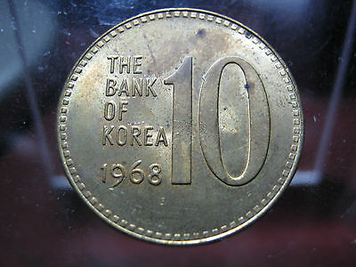 SOUTH KOREA - 1968 - 10 HWAN & 5 HWAN - BU GEMs -  SCARCE EXAMPLEs!
