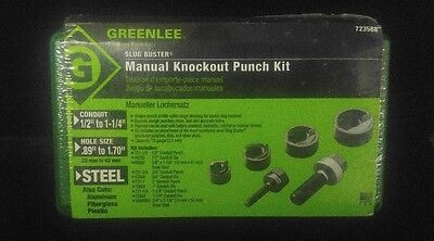 Greenlee Manual Knockout Punch Kit