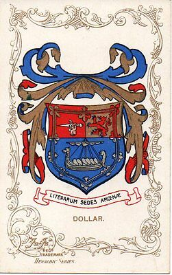 Coat of Arms of Dollar in Clackmannanshire Scotland Scottish Scots