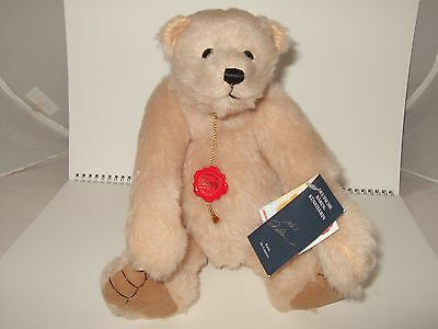 Stunning Cream Bear, Limited Edition 220/1000 Hermann Germany, With Tags, Ex Con