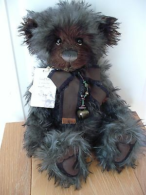 """Charlie Bear 'jack Dusty', Mohair, 17.5"""", Isabelle Collection, Mint Condition"""