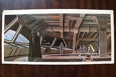 Star Wars artwork print SIGNED Ralph McQuarrie Art Darth Vader