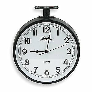 GRAINGER APPROVED Ceiling Clock,Analog,Battery, 2CHY6