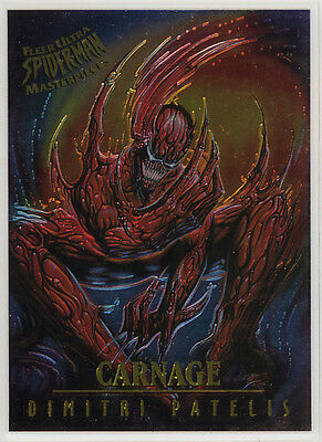 Spider-Man Fleer Ultra Masterpieces chase card #3 (1995)