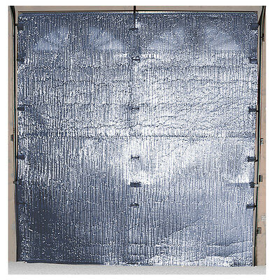 Single Garage Door (8' X 8')  'diy'  Reflective Foil Insulation Kit