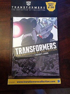 Transformers The Definitive G1 Collection Issue 1
