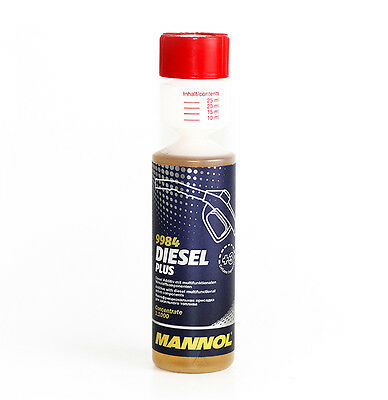 2 x MANNOL 9984 Diesel Plus fuel additives 250 ml cleans the Injection nozzles