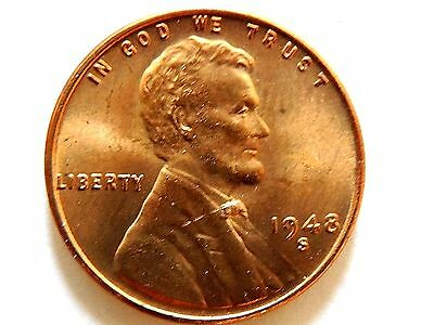 1948-S Lincoln One (1) Cent Coin