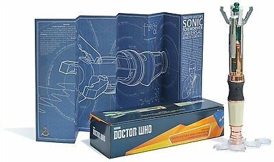 The Wand Company Twelfth Doctors Sonic Screwdriver Universal Remote Control
