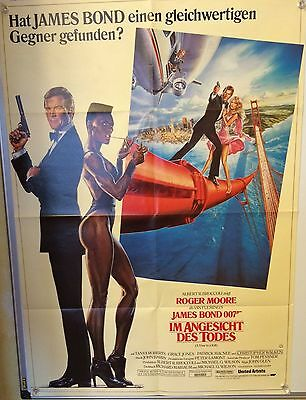 A View To A Kill (Bond) German Movie Poster (1985) Moore