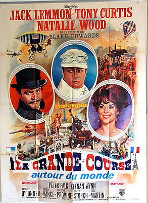 THE GREAT RACE French One Panel (1965)