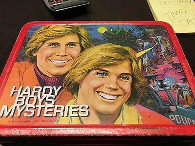 Hardy Boys Mystery.  Thermos Lunch box