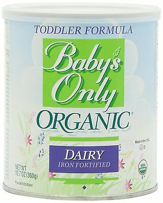 3 PACK - Baby's Only Organic DAIRY NON-GMO Toddler Formula, 12.7oz Can