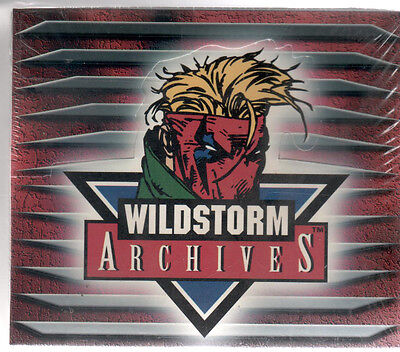 Trading Cards Wildstorm Archives box Sealed 1995 99 Chromium Cards