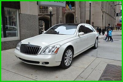 2009 Maybach 62 62S model with partition 2009 S Used Turbo 6L V12 36V Automatic RWD Moonroof Bose Premium