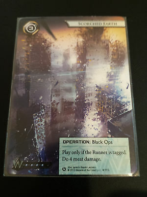 Android Netrunner LCG Alt-Art Promo - Scorched Earth