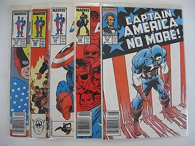 *CAPTAIN AMERICA #332-414 LOT (86 books) 1st Crossbones, Great condition!
