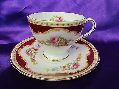 """Vintage Foley ChIna  Coffee Cup & Saucer / Foley China """"WIDSOR"""" Brain & Co"""
