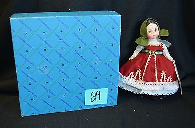 Vintage Madame Alexander Doll Bulgaria #557 8 Inches