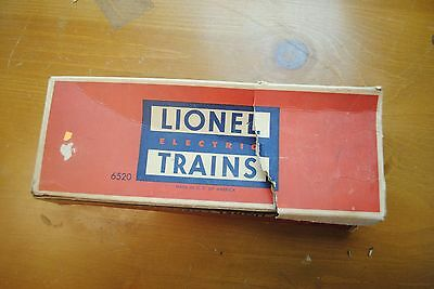 Lionel 6520 Searchlight Car Box Only