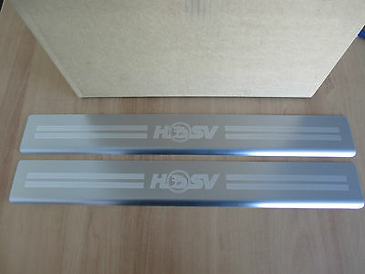 VE VF HSV Front Door Sill Scuff Plates Genuine Ute Sedan Wagon Maloo Clubsport