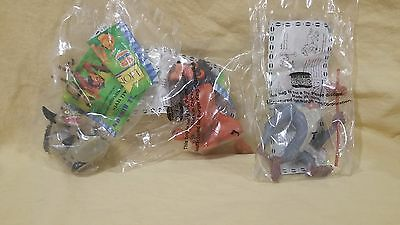Lot of 3 Lion King toys from Burger King - Scar, Rafiki, Ed the Hyena - NEW