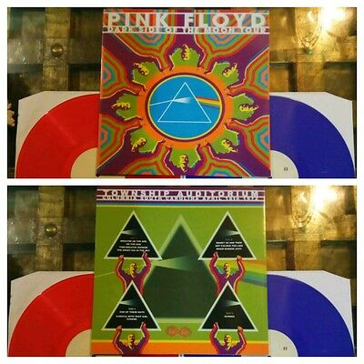 Pink Floyd the dark side of the Moon tour 2 LP coloured Limited numbered edition