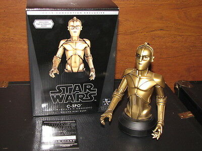 STAR WARS Gentle Giant- McQuarrie C-3PO Mini Bust