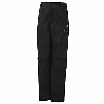 Craghoppers Kids Kiwi Cargo Trousers - Black, 5-6 Years