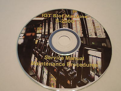 SLOT MACHINE IGT S-2000, Service Manual,Maintenance Troubleshoot Parts. on CD