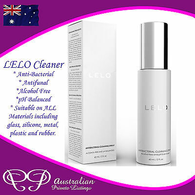 Original LELO Toy Cleaner for Adult Toys, premium antibacterial cleaning spray