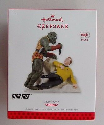 2013 Hallmark Keepsake Ornament Arena Star Trek Magic Sound