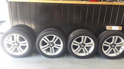 "Holden Ve Sv6 Commodore 4 X 18"" Alloy Wheels Rims & Tyres  245/45Zr18"