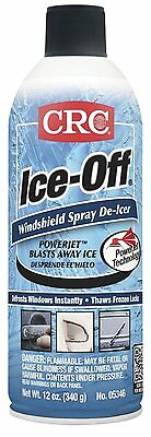 1 Can CRC 05346 Ice-Off Windshield Spray De-Icer - 12 Wt Oz.! FREE SHIPPING