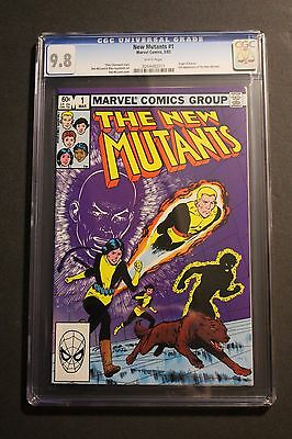 NEW MUTANTS #1 Origin Karma 1983 Gyrich 20th Century Fox Film MOVIE CGC NMMT 9.8