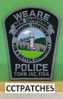 Weare, New Hampshire Police Shoulder Patch Nh